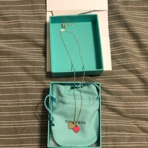 Tiffany mini heart necklace